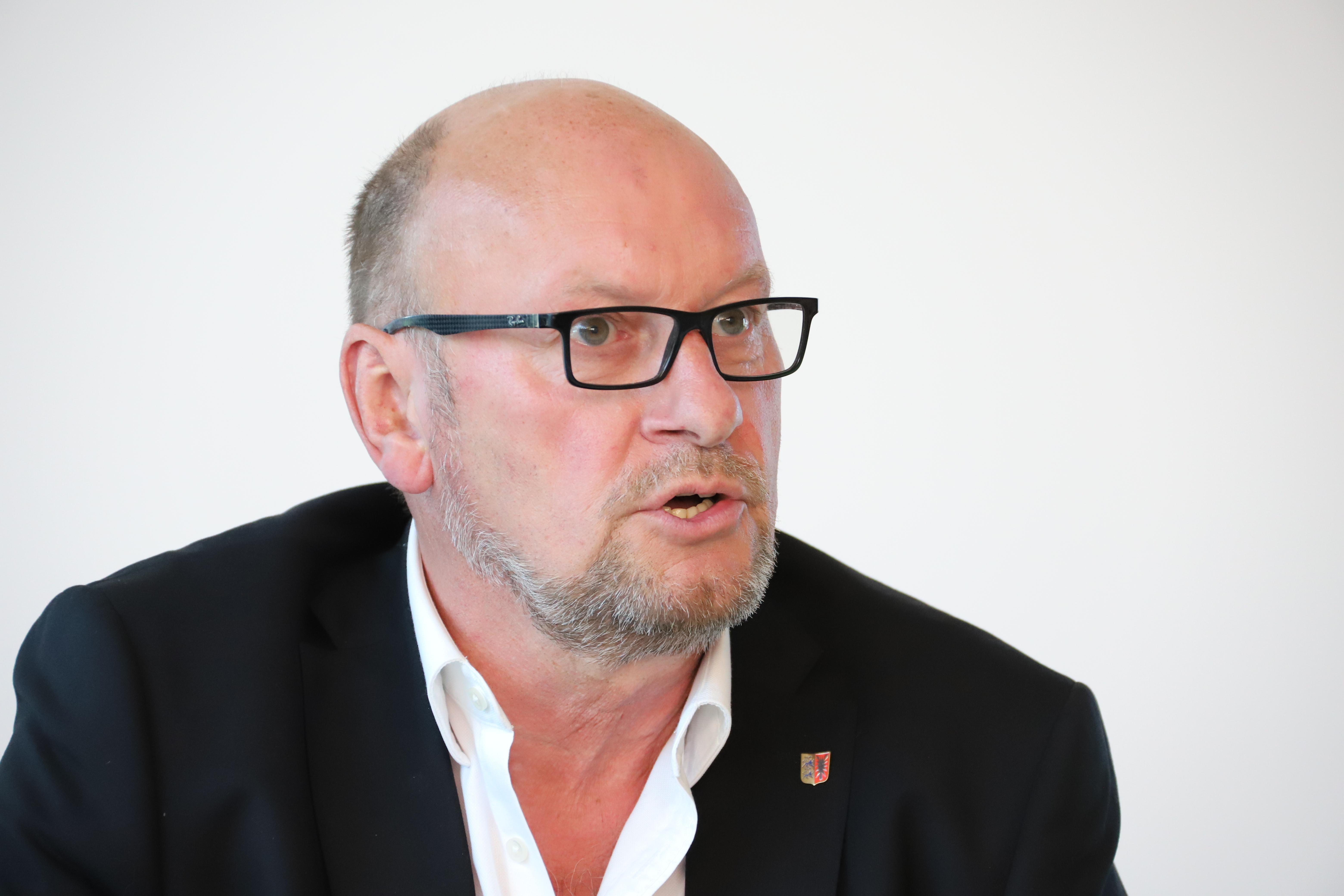 Hartmut Hamerich Eropapolitiascher Sprecher im Landtag von SG